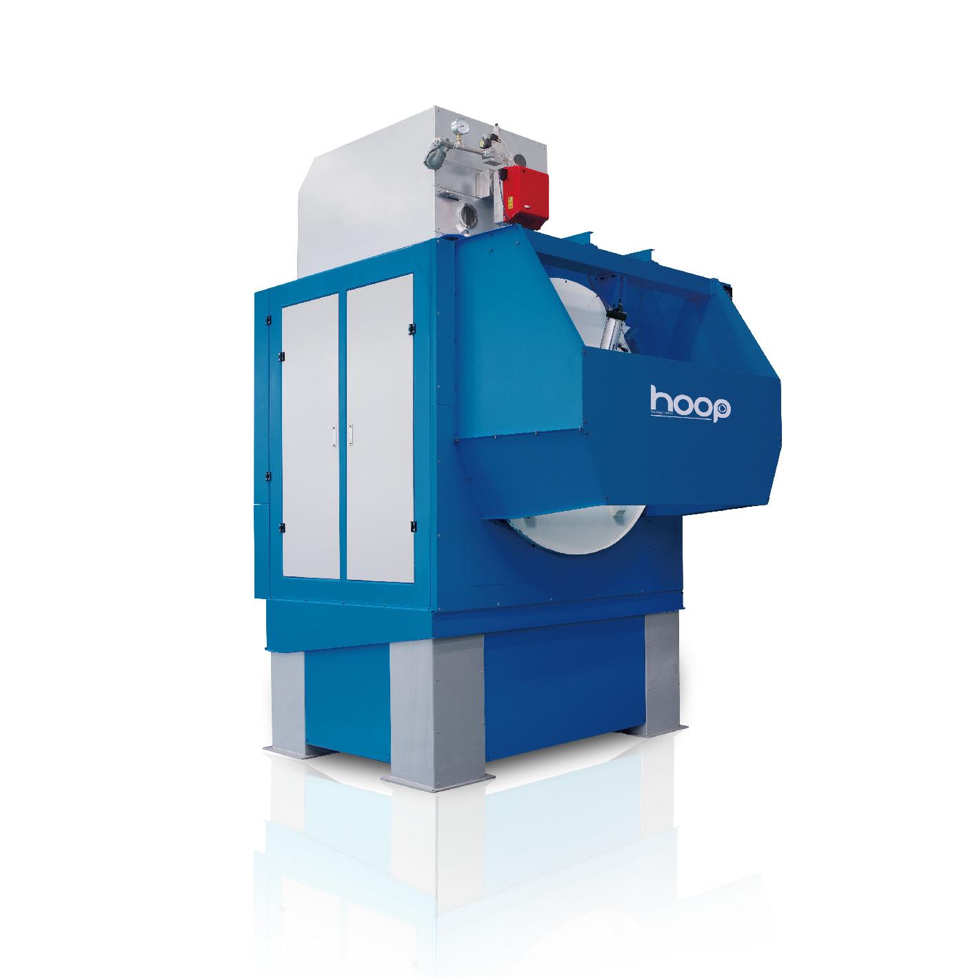 倾斜式贯通烘干机(蒸汽型和燃气型)
